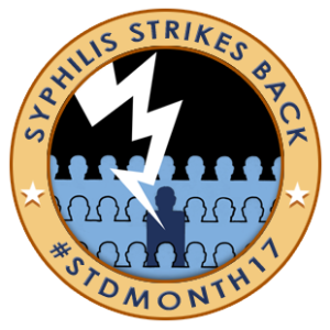 Syphillis strikes back logo