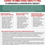 COVID-19 Food Safety Facts
